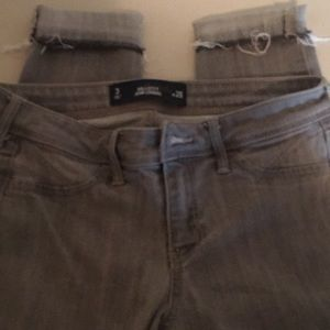 Hollister Jean Legging Size 3 - Grey